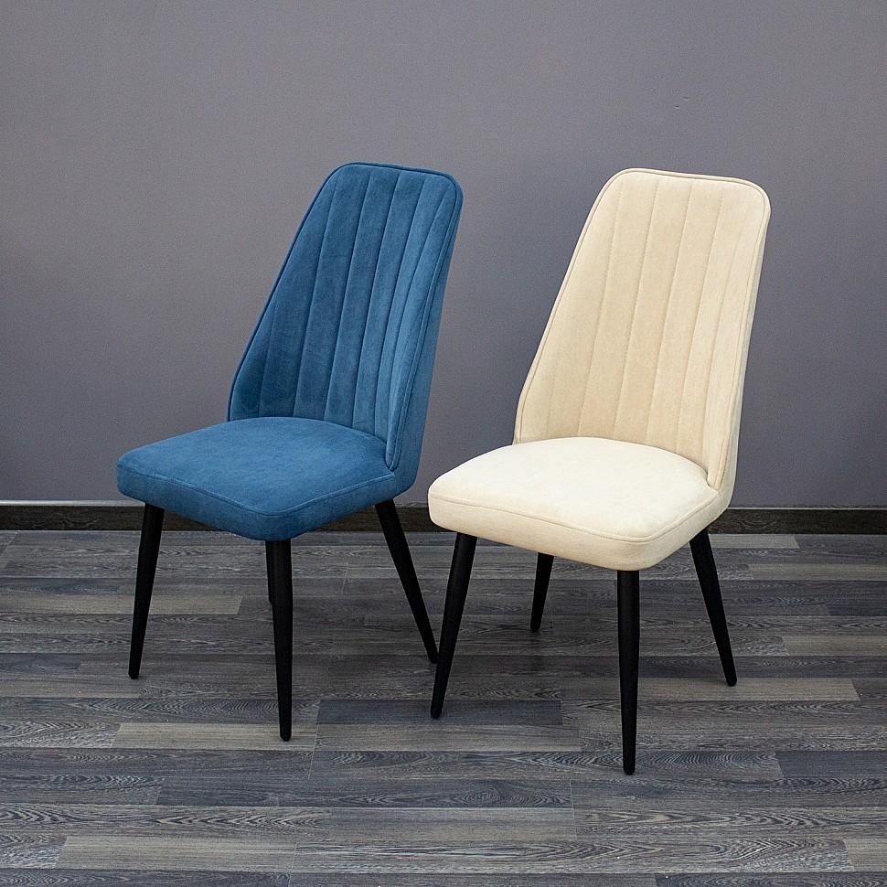 Обеденный стул ELIT с мягкой велюровой обивкой